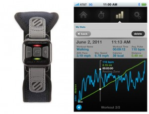 myTrek Pulse Monitor And iPhone App (video)