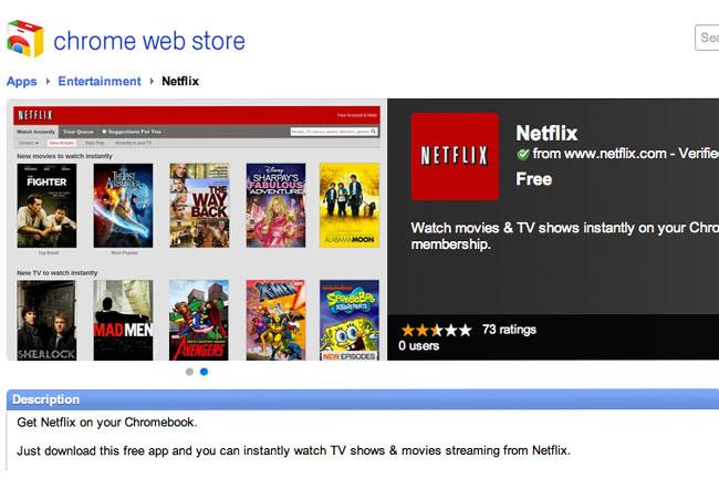 Netflix ChromeOS