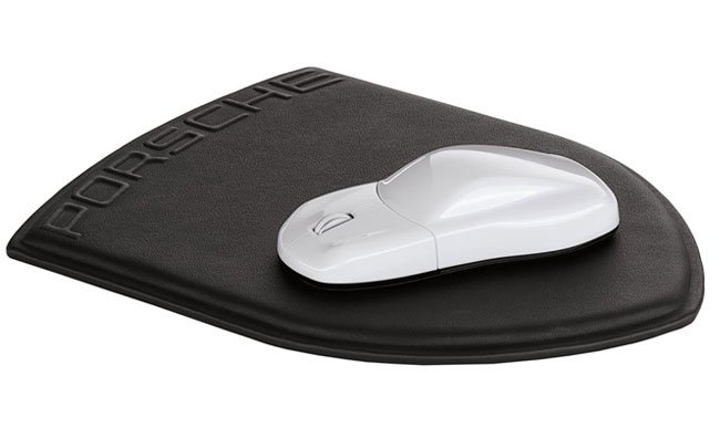 Porsche designed mouse and mousepad