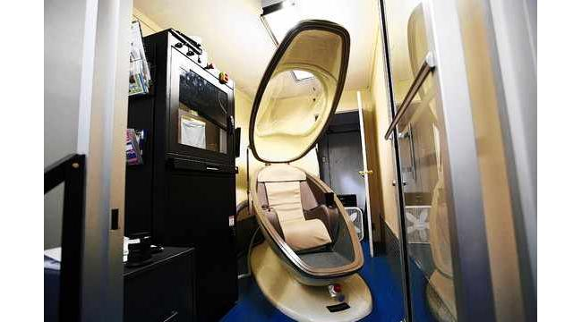 Pressurized Egg Chair Called Cvac Pod Could Hold Key To