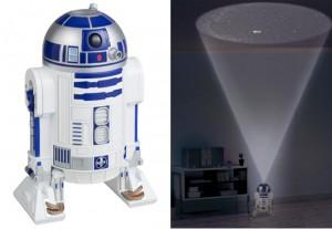 R2-D2 Planetarium Complete With Death Star