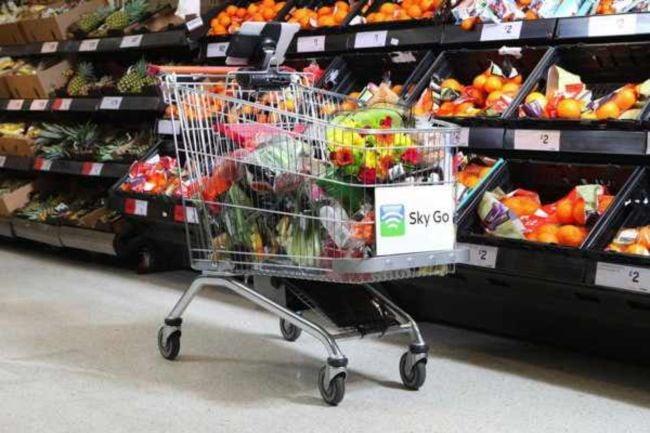 Sainsburys Shopping Cart