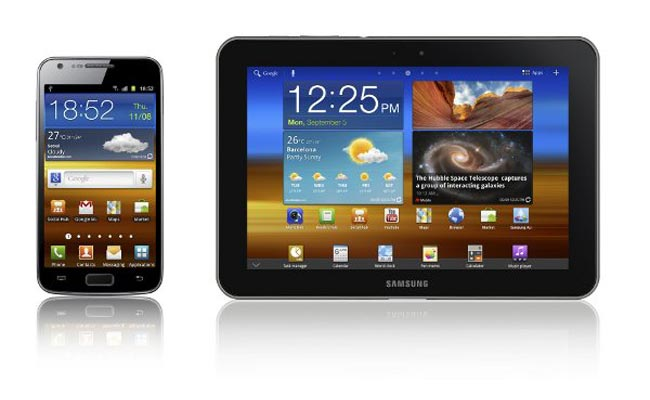 Samsung Galaxy Tab 8.9 LTE And Galaxy S II LTE