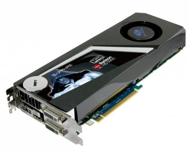 Sapphire HD 6950 Toxic Edition Card