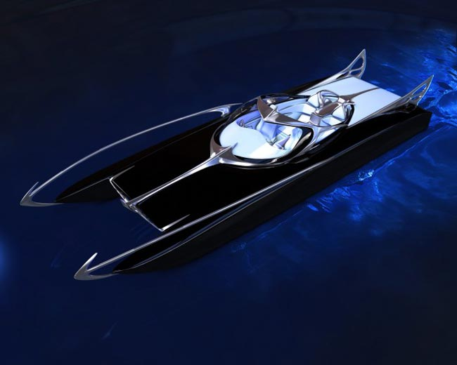 Spire Boat, The Batman Inspired Speed Boat