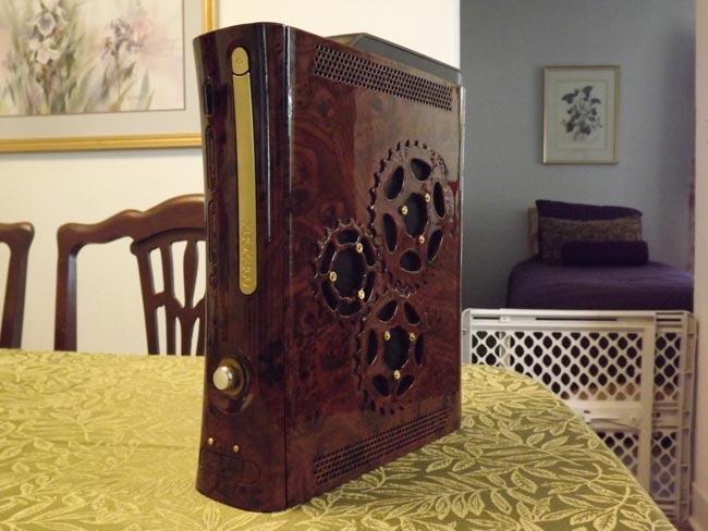 Steampunk Xbox 360 Mod