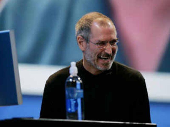 Steve Jobs Laughing