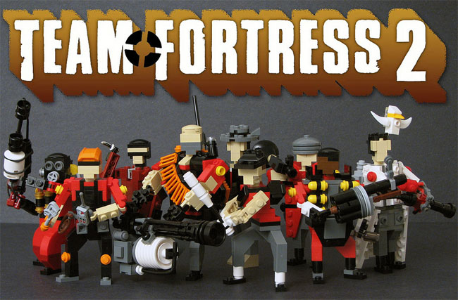 TeamFortress 2 Lego Figures