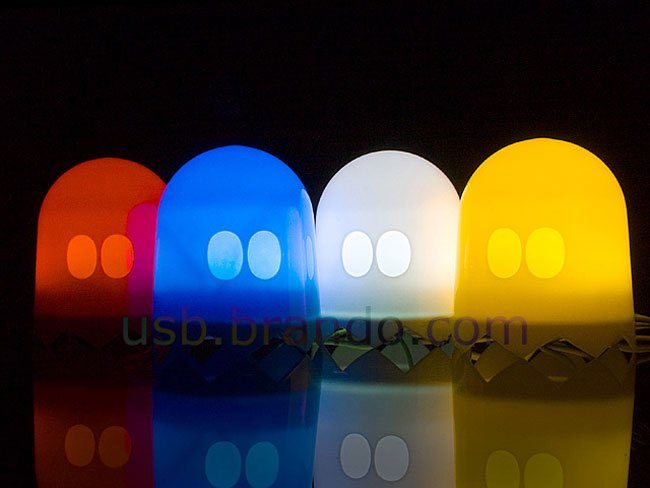 USB Pac Man Ghost Lights