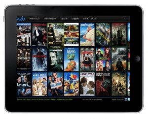 Vudu Begins Streaming Movies To iPads Via Web App