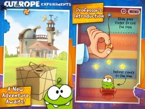 Cut The Rope: Experiments Lands On The App Store