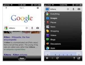 Google Search iOS App Receives Instant Pages Update
