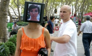 The Making Of iPad Head Girl (video)
