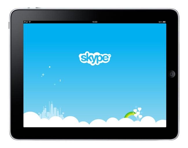 iPad Skype