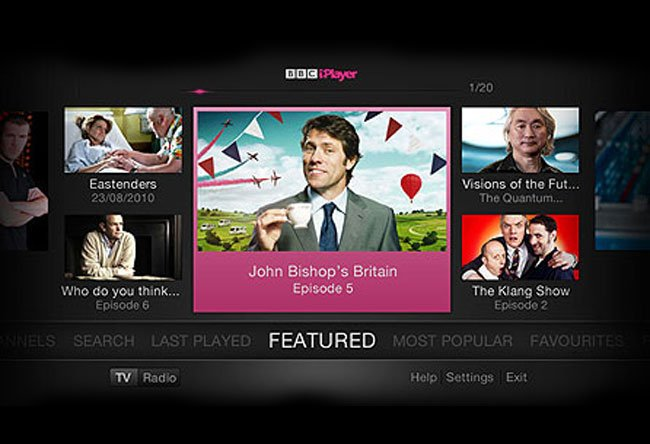 iPlayer TV