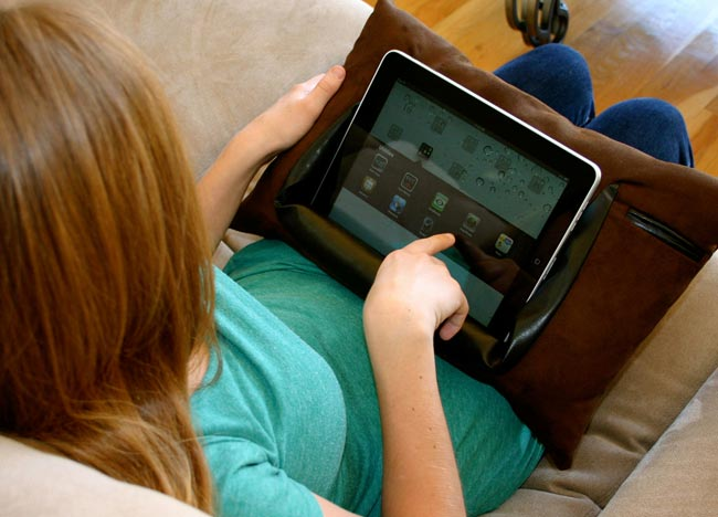 ePillow, A Pillow For Your iPad