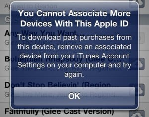 Apple's iCloud Will Limit iTunes Account Usage To 5 Devices?