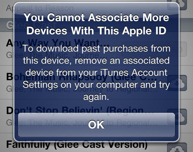 iTunes Devices