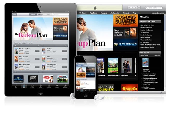 Apple To Launch iTunes Replay Movie Streaming Service