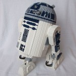 Lego remote controlled R2-D2