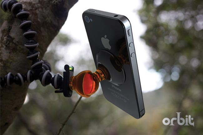 Orbit iPhone Stand