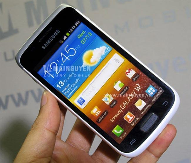 White Samsung Galaxy W