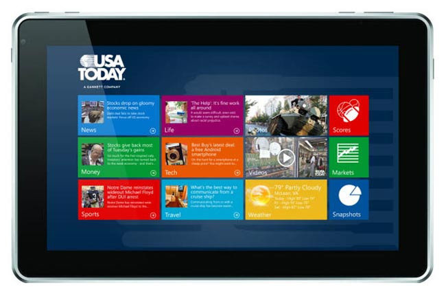 Windows 8 Tablet Apps Surface