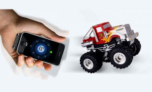 iOS Remote Controlled AppSpeed Monster Truck (video)