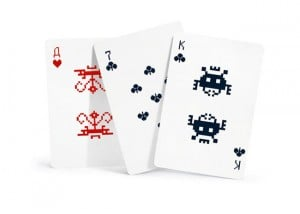 Art Lebedev Space Invader Playing Cards