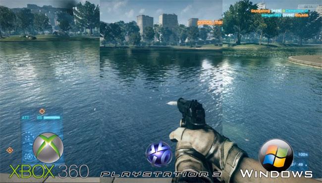 Battlefield 3 comparison