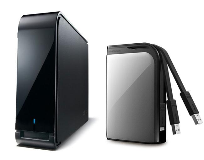Buffalo MiniStation Extreme And DriveStation Axis Velocity