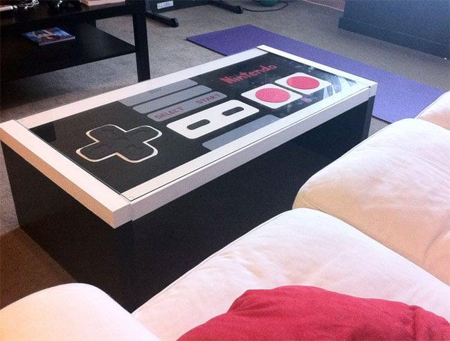 Custom NES Coffee Table