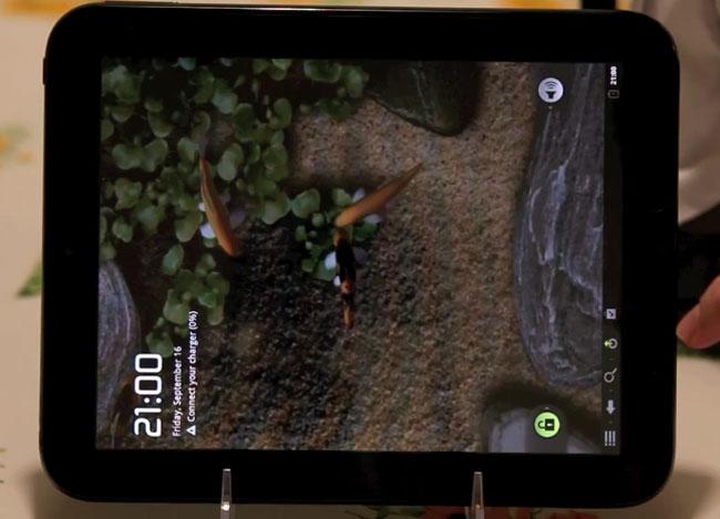 HP TouchPad Gets CyanogenMod 7