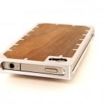 EXO10 Aluminium and Rosewood iPhone 4 Case