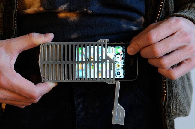 EXO7 Belt Buckle iPhone 4 Case