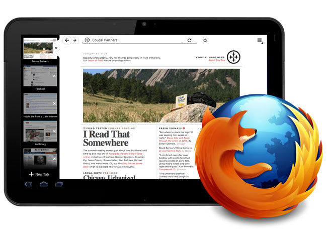 Firefox Android Tablets