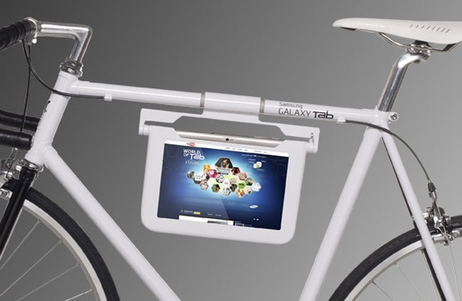 galaxy tab tablet bicycle mount - Tablet Mount