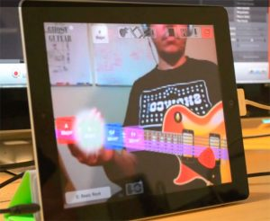 GhostGuitar iPad App Provides Magical Augmented Self Reality To Air Guitarists (video)