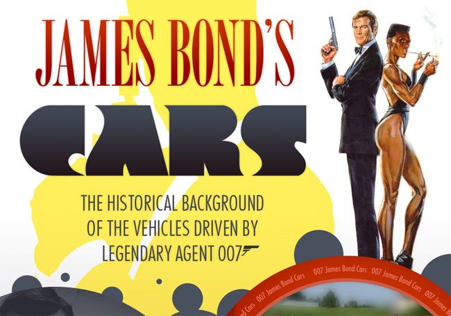 James Bond Cars Infographic