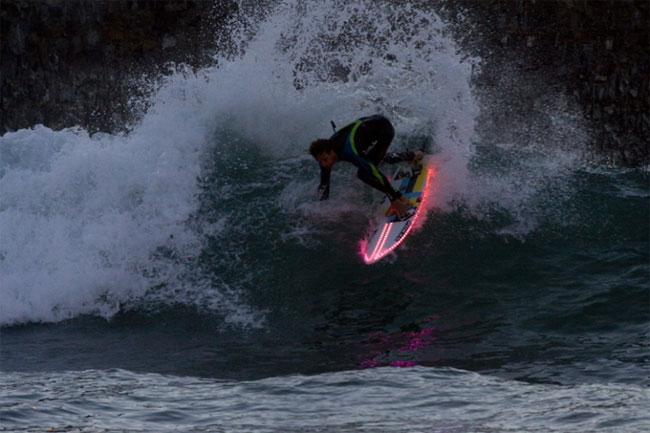 LED Surfboard