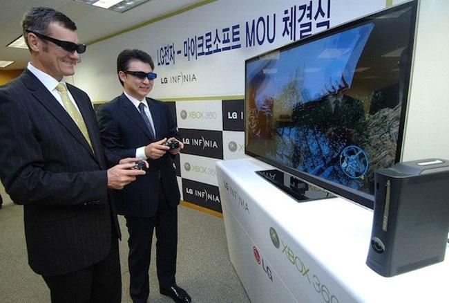 LG LW980T Dual play TV