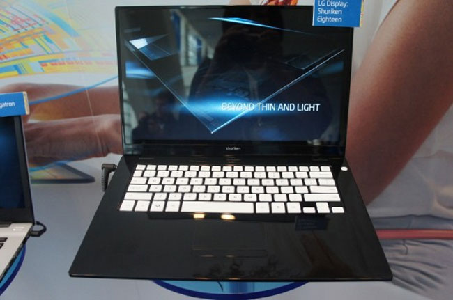 LG Shuriken Eighteen Ultrabook Unveiled (Video)