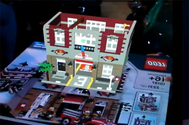 Lego Augmented Packaging Let You See The Finish Product