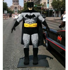 Check Out This Impressive Classic Batman Lego Sculpture