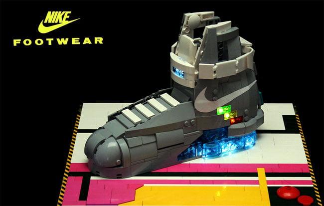 Lego Nike BTTF Shoe