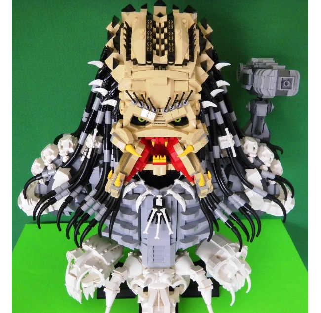 Lego Predator Bust