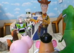 Toy Story Film Being Recreated Using Real Toys (video)