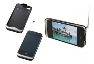 Logitec Case Transforms Your iPhone Into A TV (video)