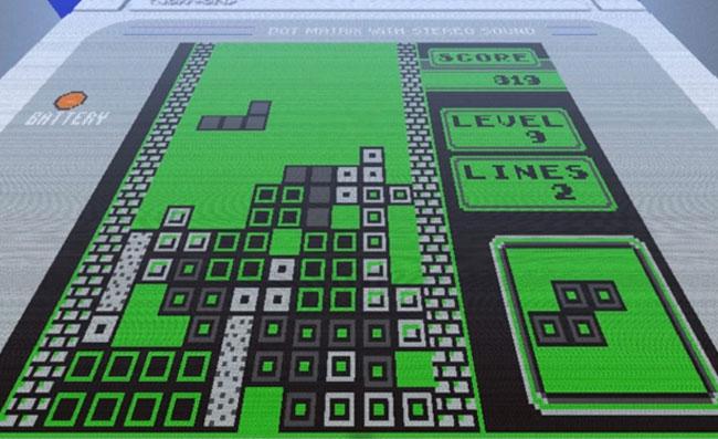 Minecraft Tetris