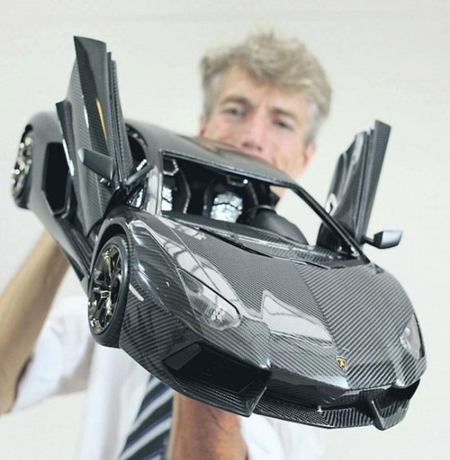 Model Lamborghini Aventador